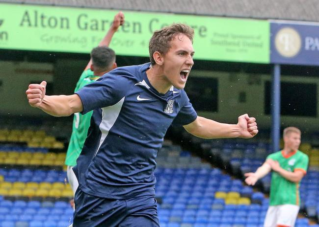At the double - Matt Rush scored twice for Blues against Plymouth