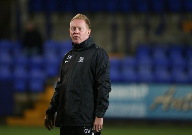 Late changes - for Southend United's caretaker manager Gary Waddock