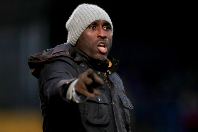 In discussions - Sol Campbell is in talks with Southend United