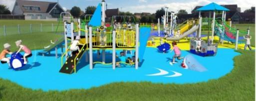 Seaside theme - Shoebury Common play area