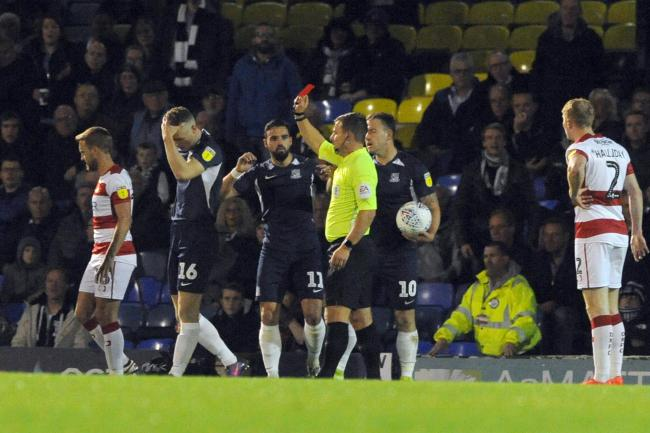 Sending offs - red cards could be shown for coughing next season