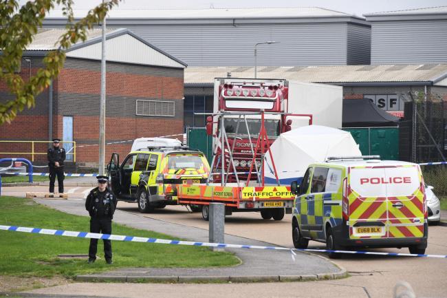Lorry Deaths Investigation Shocked Staff Arrive To Work