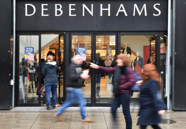 Debenhams' loss would be a'hammer blow' to Southend High Street