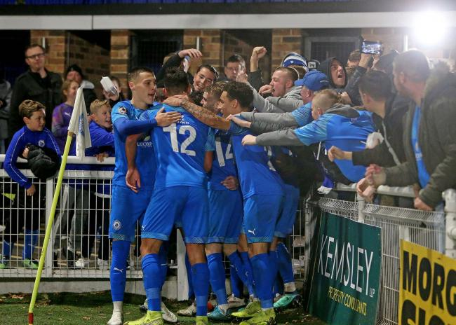 Not in action - Billericay Town Picture: NICKY HAYES/iCORE LTD
