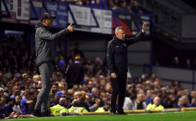 In charge - Portsmouth boss Kenny Jackett (right)