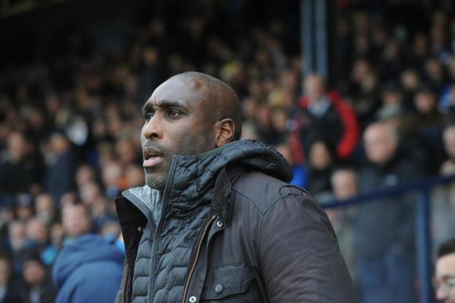 Unchanged line-up - Sol Campbell has stuck with the same team