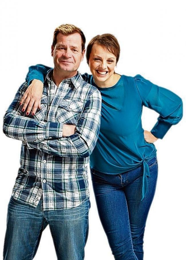Radio legends - Martin Day and Su Harrison presented the Essex FM morning show for 18 years