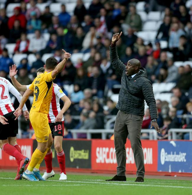 Not changing his approach - Southend United manager Sol Campbell