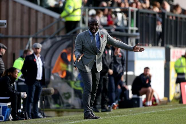 Keen to stay - Southend United boss Sol Campbell