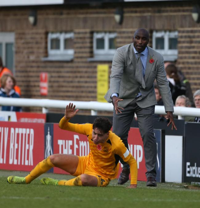 Frustrating time - for Southend United