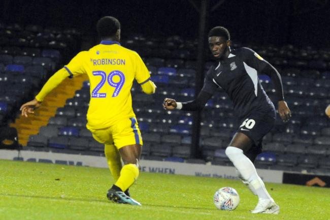 On the ball - Southend United defender Richard Taylor