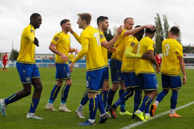 Looking to create more memories - Concord Rangers Picture: PAUL RAFFETY