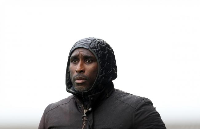 Staying positive - Southend United manager Sol Campbell