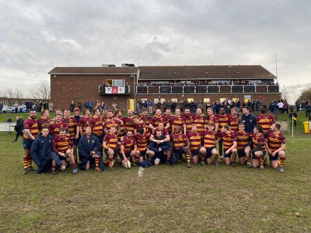 Memorable afternoon  - for Westcliff Rugby Club     Picture: TIM BROWNE