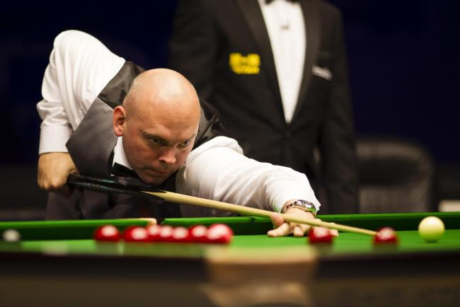 Narrow win - for Stuart Bingham