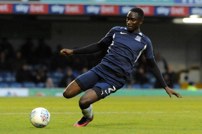 Wanting a call-up - Southend United defender Elvis Bwomono