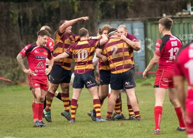 Good win - Westcliff beat Redruth last weekend  Picture: TIM BROWNE