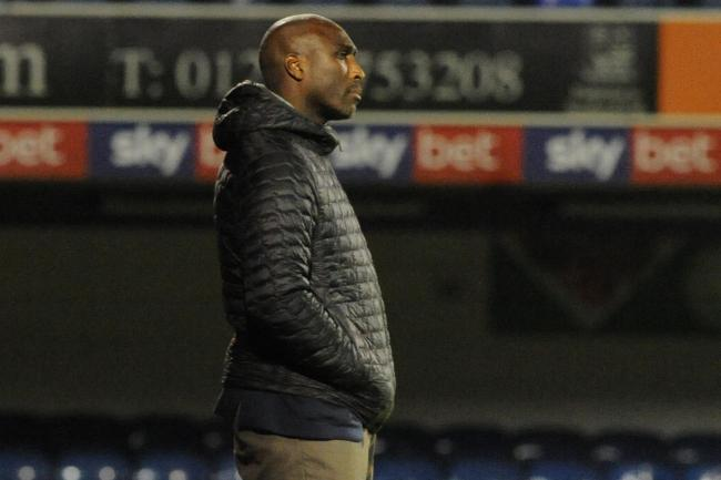 Wanting to make improvements - Blues boss Sol Campbell