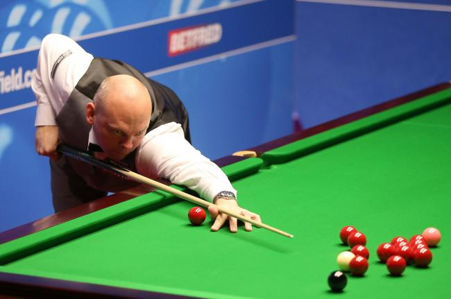 Close to his best - Stuart Bingham is into the last 32 at the Betway UK Championship