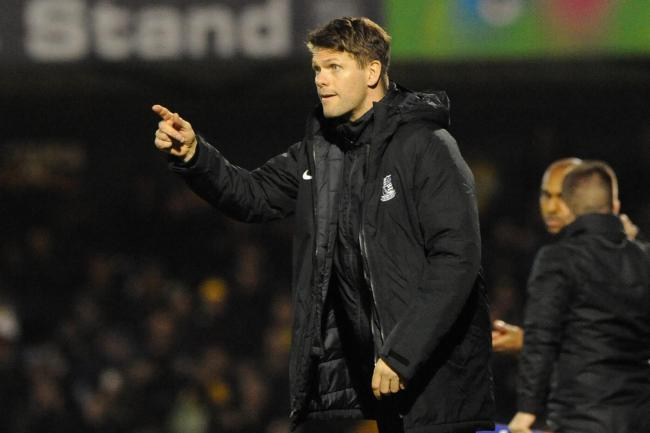 Staying upbeat - Blues' assistant manager Hermann Hreidarsson