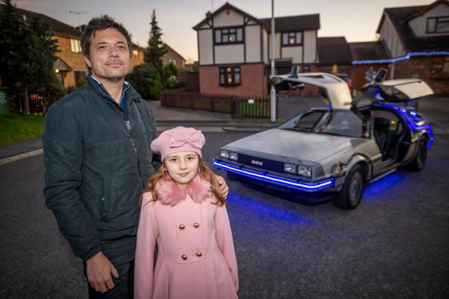 VIDEO: Dad spends £80k on doing up DeLorean and now it runs like a dream!