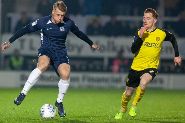 Back in action - Southend United striker Stephen Humphrys