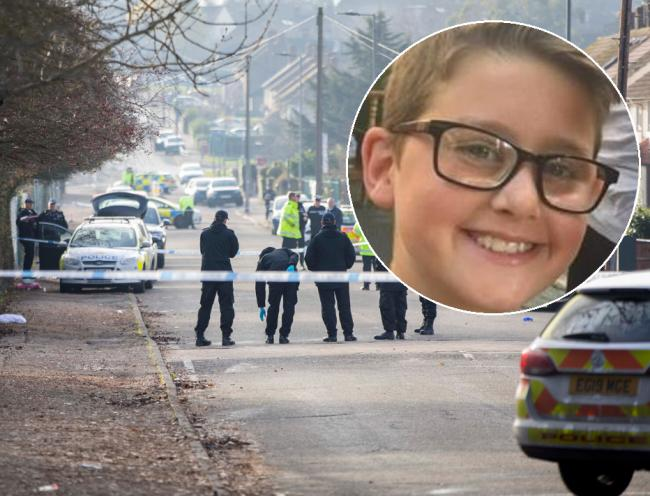 Man in court over murder of 12-year-old boy outside school