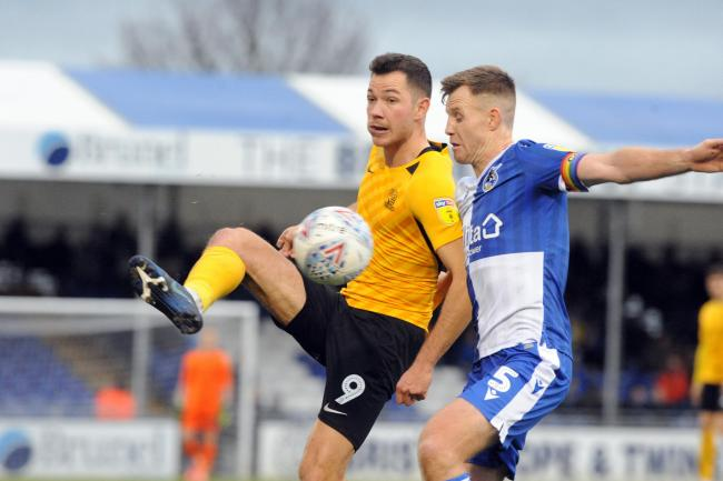 Injured - Southend United striker Tom Hopper