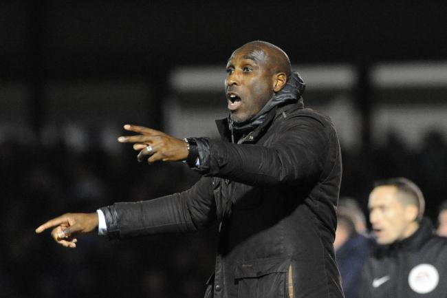 Allowing festive celebrations - Southend United manager Sol Campbell