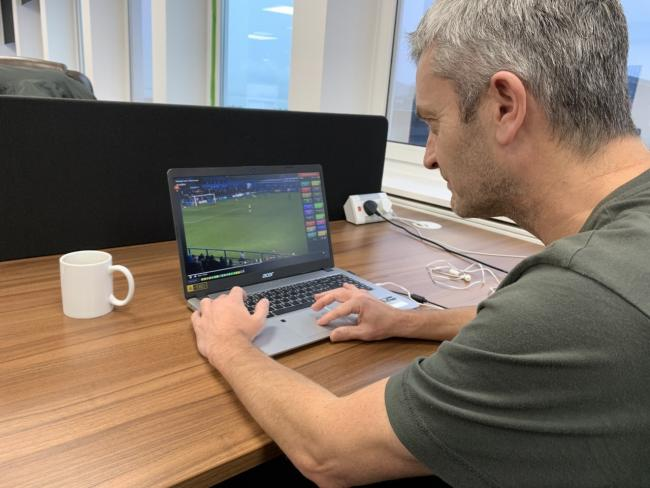 Working hard - Scott Elliott has been helping sides with his expert analysis for the past four years