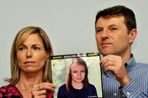 Echo: Gerry and Kate McCann