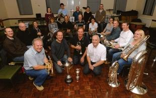 No place like home – Thundersley Brass Band in their new hall