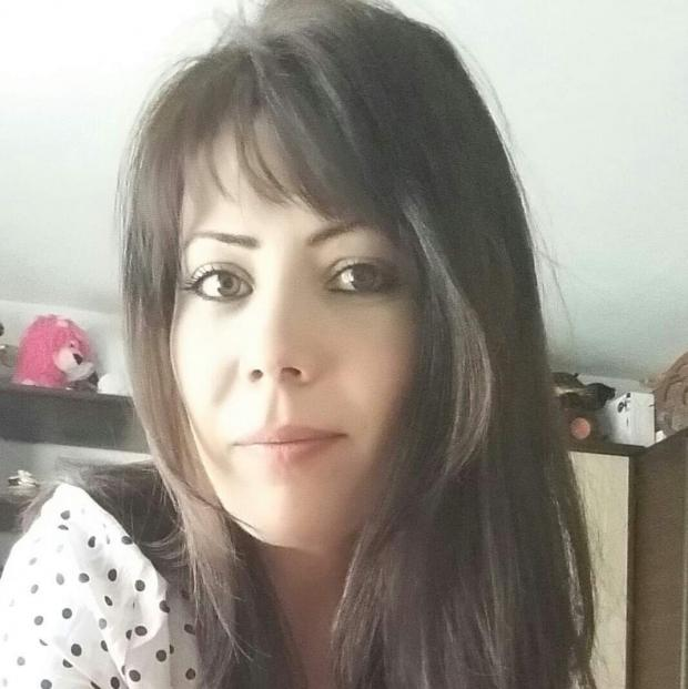 Echo: Tragic - mum Gabriela Pintilie, 36, lost a total of six litres of blood after giving birth to her daughter via C-section at BasildonHospital in February 2019
