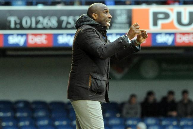 Frustrated - Southend United manager Sol Campbell