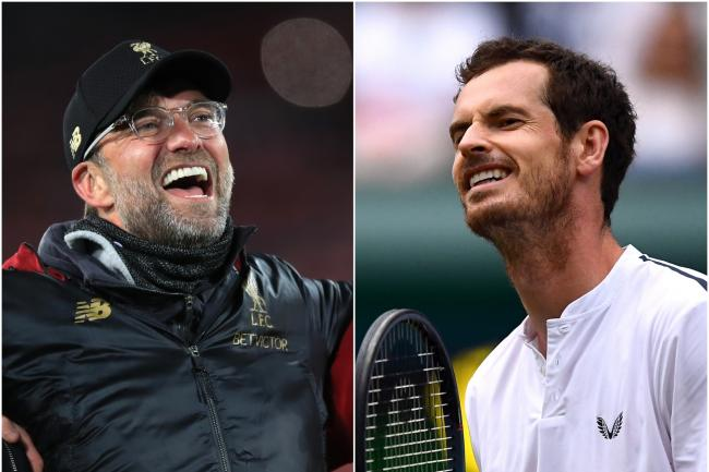 Jurgen Klopp's Liverpool and Andy Murray are down for the award