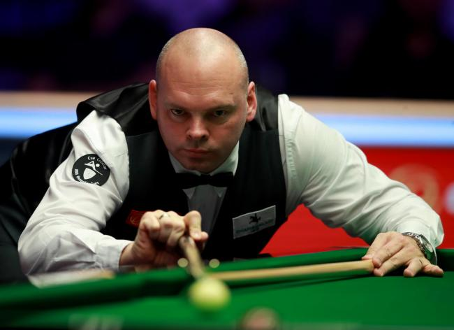 Safely though - Stuart Bingham is into the second round of the Masters
