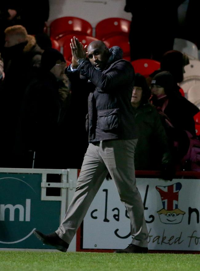 Pleased - Southend United manager Sol Campbell