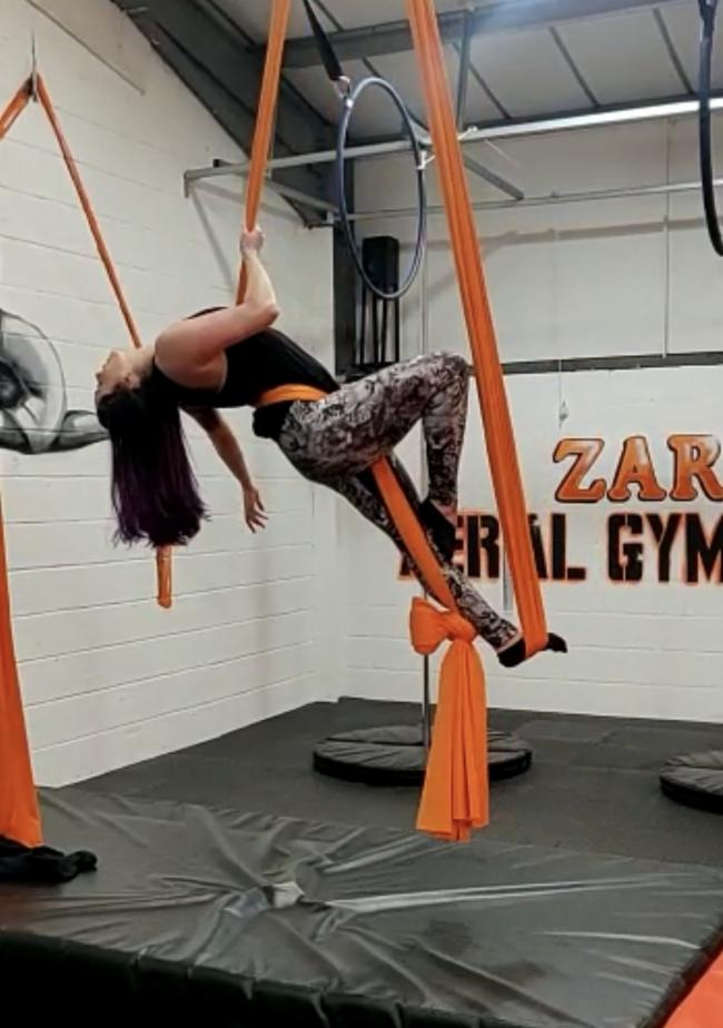 New gym for aerial gymnasts at shopping centre is just weeks away