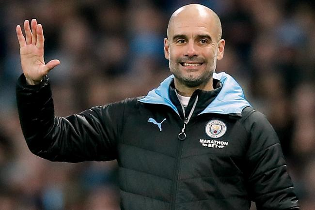 Pep Guardiola is proud of his team despite their failure to keep pace with Liverpool