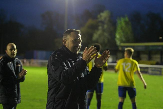 Pleased - Concord Rangers manager Danny Scopes will not be moaning about fixture congestion                       Picture: PAUL RAFFETY