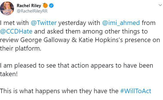 Katie hopkins twitter