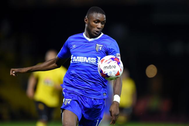 Uncertain future - midfielder Emmanuel Osadebe does not know who he will be playing for