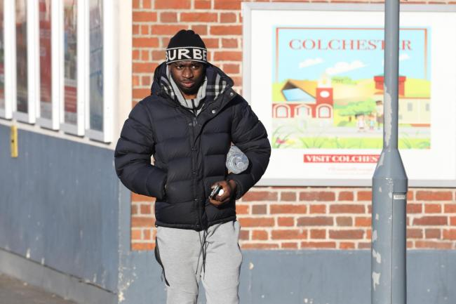 Percy Kiangebemi at Colchester Magistrates' Court