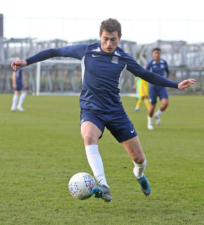 Back in action - Southend United midfielder Lewis Gard