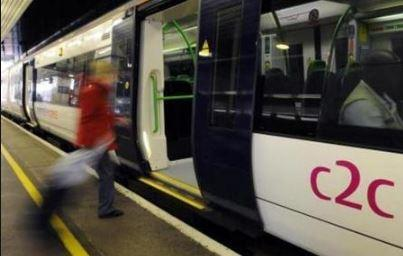 c2c reduces key worker train services  as 100 staff are unavailable to work