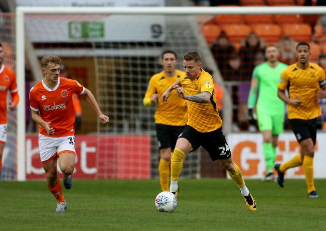 Missing out - Jason Demetriou did not feature against Coventry City