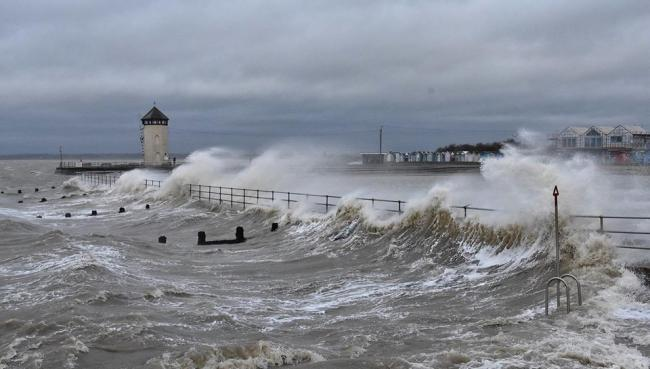 Ant Niles took this picture of Storm Ciara in Brightlingsea