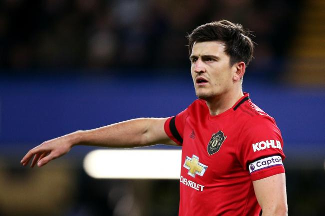 Harry Maguire was on the scoresheet for United