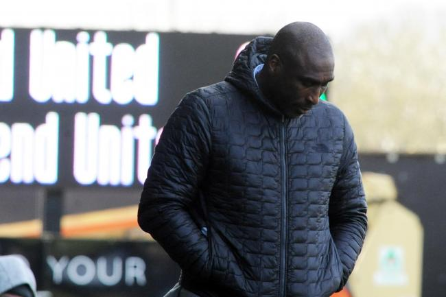 Uncertain future - for Southend United boss Sol Campbell