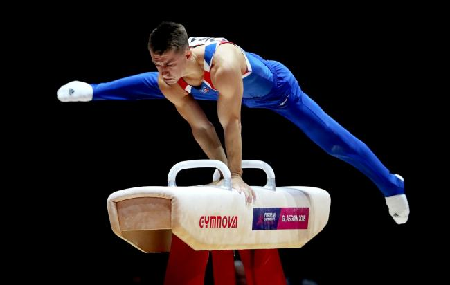 Defending champion - Max Whitlock